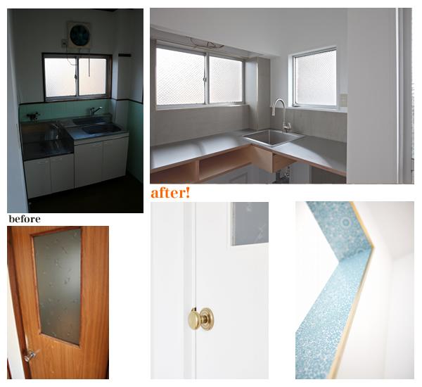 ネオレトロ昭和館による1DKマンションの改装ポイント